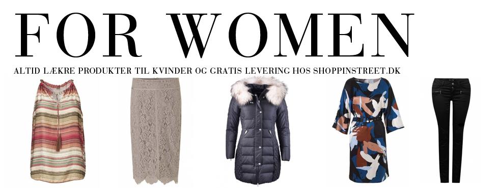 Kvinder modetøj - ShoppinStreet.dk - Vedbæk Shopping